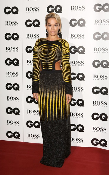 Rita Ora GQ Men Year Awards Red Carpet Arrivals