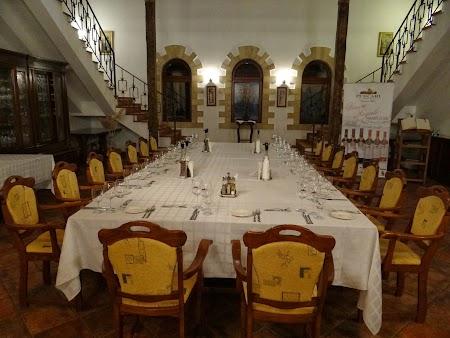Basarabia - Drumul Vinului: Sala de degustare Purcari