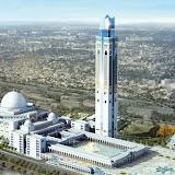 بناء أكبر مسجد الجزائر