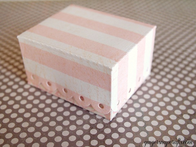 eyelet box die from Lifestyle Crafts