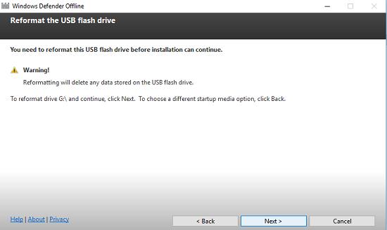Sử dụng Windows Defender Offline diệt tận gốc virus