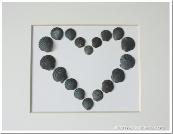 Shell Valentine Craft