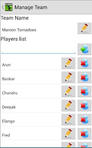 Best Cricket Scorer FREE 5.2.4 screenshots 2
