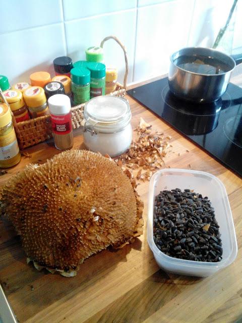 como tostar pipas de girasol en casa