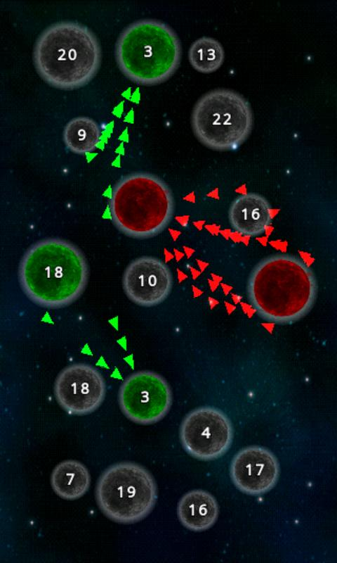 Planetary Wars- screenshot