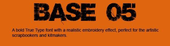 Base-05-Font