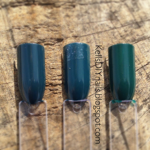 L B K Nail Lacquers Are Unique And Beautiful Giveaway: Kell's DIY Nails: WIN-ter Wonderland: E.l.f. Nail Polish
