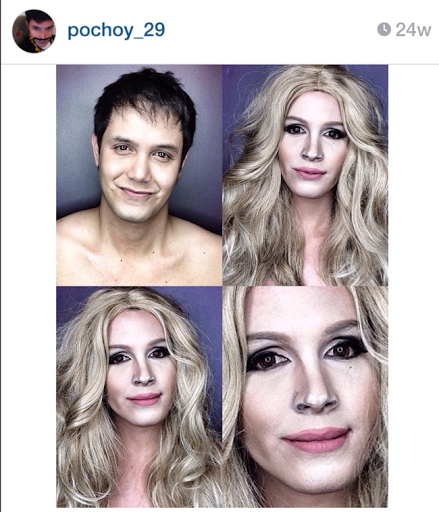 PHOTOS: Dad Transforms Himself Into Celebrities Using Makeup And Wigs 35