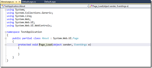 Highted code from solution explorer properties-http://www.dotnetjalps.com