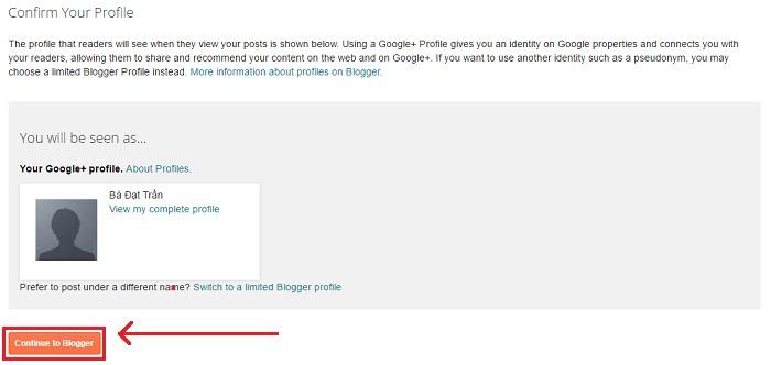 Cách tạo blogspot cho người mới bắt đầu