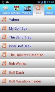 Golf NEWS - screenshot thumbnail