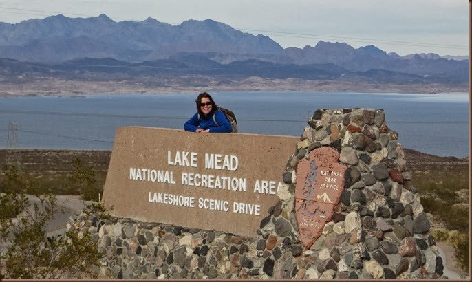 Mud-on-the-tires Full-time RV Adventure: NV -- Lake Mead, Boulder City,  1-27 Jan 2014