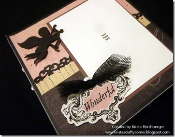La Belle Vie_6x6 accordian album cupid close up