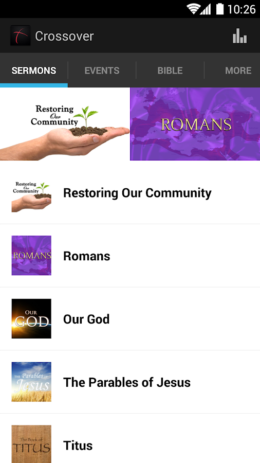 Crossover Bible Church- screenshot