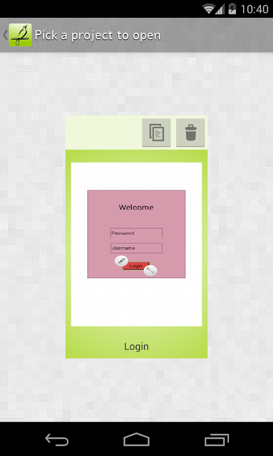 Mocking Pal (mockup/wireframe) - screenshot