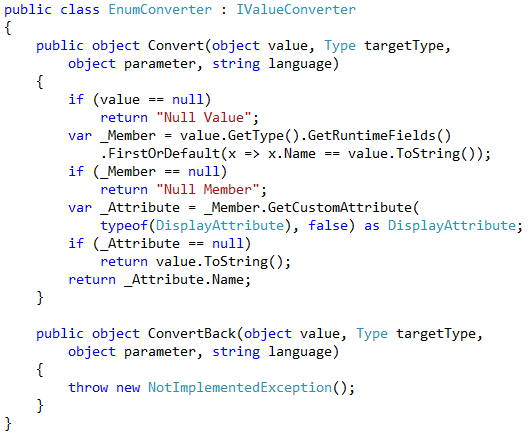 Jerry Nixon on Windows: Binding to an ENUM in Windows 8