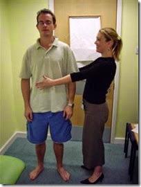 How to do romberg test for cerebellar examination