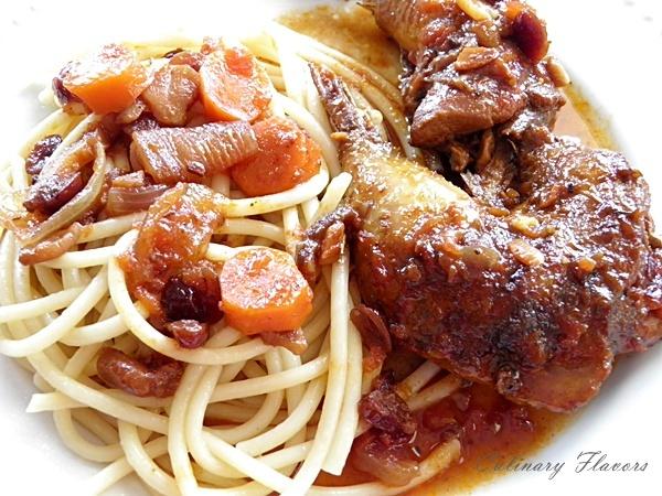 Pheasant in Wine Sauce.JPG