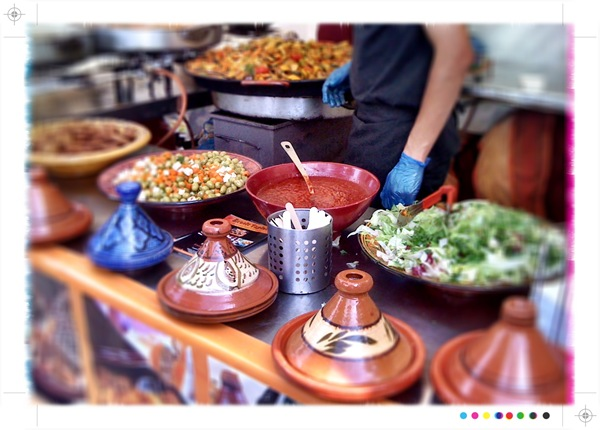 This Moroccan feast is just one of the amazing cusines you can try at the Real Food Festival