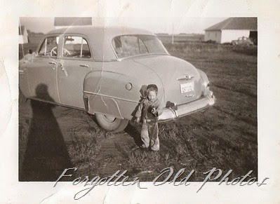 Child and a car Dl Antiques