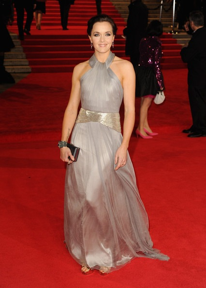 Victoria Pendleton attends the Royal World Premiere of Skyfall
