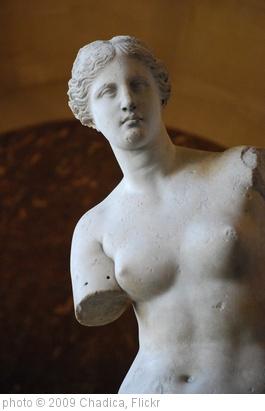 'Venus de Milo' photo (c) 2009, Chadica - license: http://creativecommons.org/licenses/by/2.0/