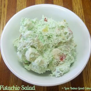 Pistachio Salad.