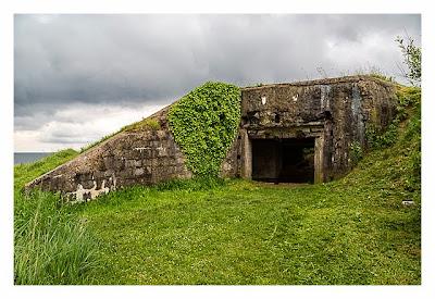 Westliche Landungsstrände - Bunker für Feldgeschütz