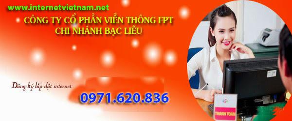 Đăng Ký Lắp Đặt Internet FPT Tại Bạc Liêu