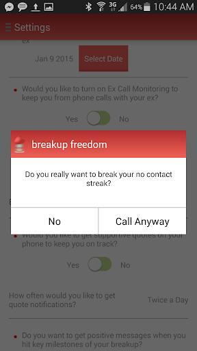 breakup freedom 2.1 screenshots 5