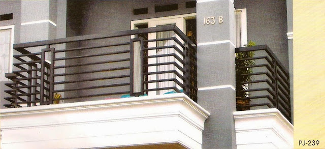 pagar balcon minimalis