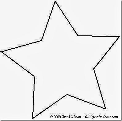 Estrellas De Navidad Para Imprimir