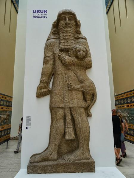 Muzeu Pergamon Berlin: Statuie Uruk