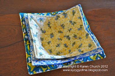 Syzygy of Me Microwave Bowl Potholder