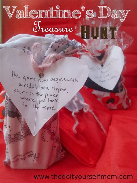 What to do for valentines day for my husband startupcorner the do it yourself mom diy valentines day treasure hunt ideas solutioingenieria Image collections