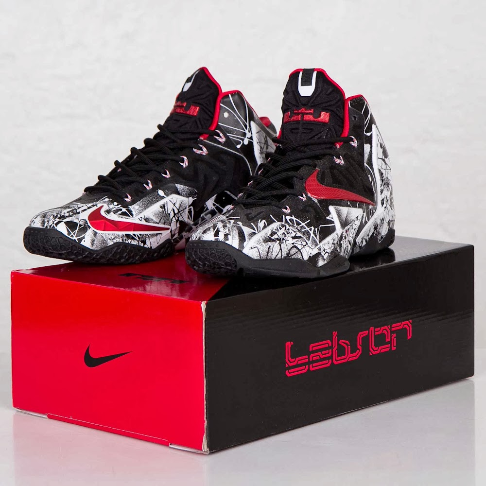 45a00af923f4c One More Look at the Just Released 8220Graffiti8221 Nike LeBron 11 ...