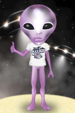 Creepy Alien Live Wallpaper