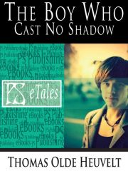 Cover of the online mobi version of the novelette The Boy Who Cast No Shadow by Thomas Olde Heuvelt