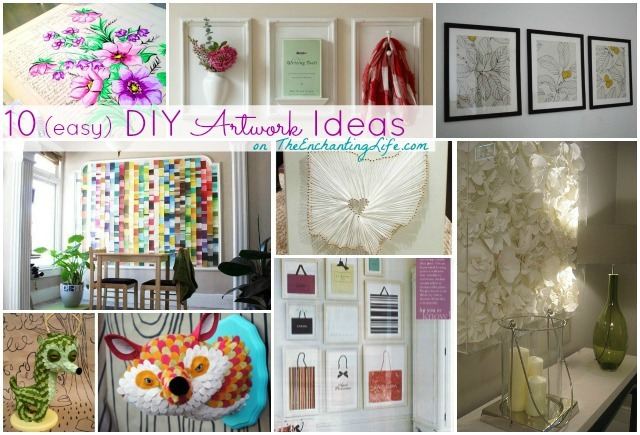 10 easy DIY Artwork Ideas (No Art Degree Required) | The ...
