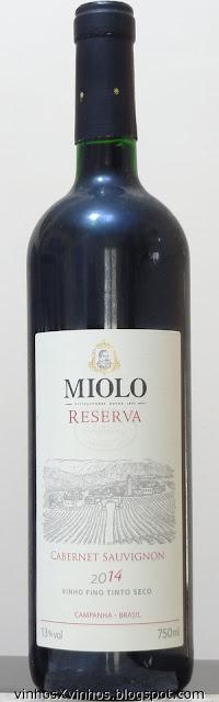 Miolo Reserva Cabernet Sauvignon
