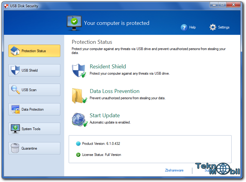 USB Disk Security v6.4.0.136 Full