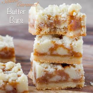 Salted Caramel Butter Bars.
