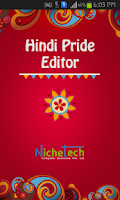 Screenshot of Hindi Pride Hindi Editor