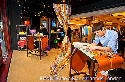 FENDI Fatto a Mano Harrods London 11-12 March