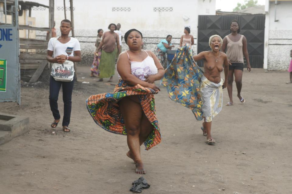 Femme Nu Insolite les femmes une togo — zalischyky