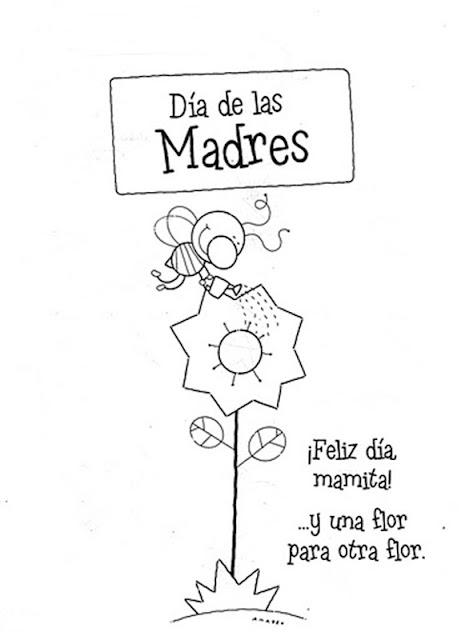 Dia De La Madre Dibujos Para Colorear