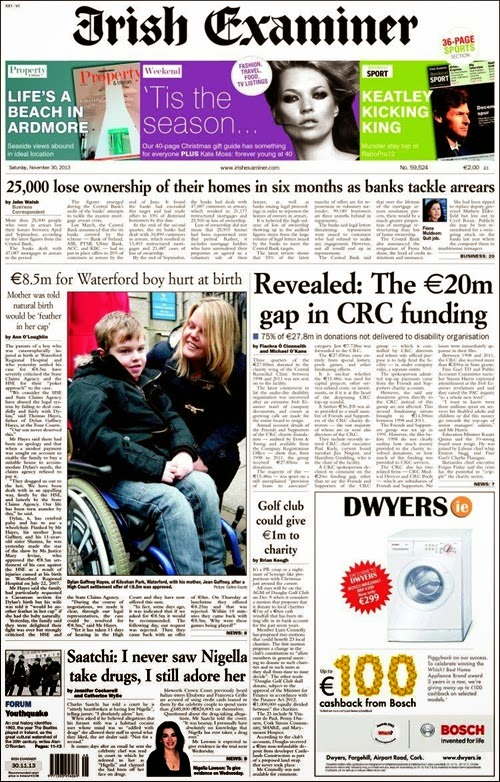 Irish examiner 30-11-13