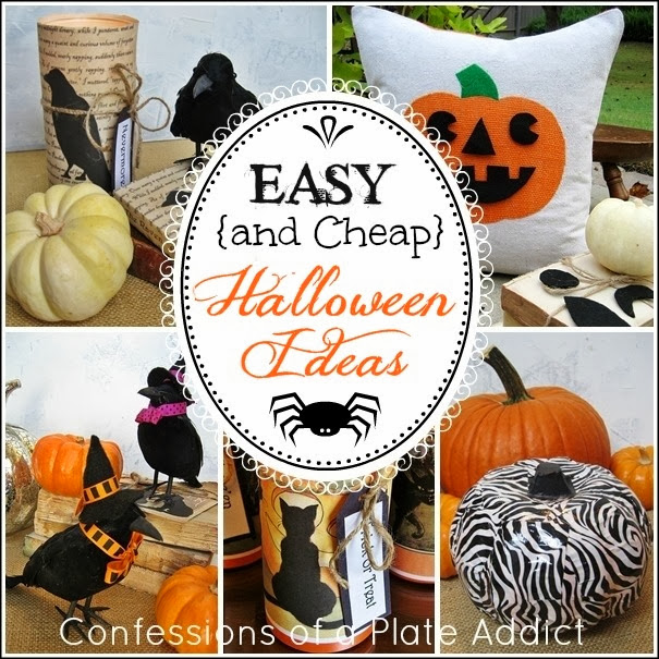 CONFESSIONS OF A PLATE ADDICT Easy {and Cheap} Halloween Ideas