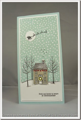 Holiday Home & White Christmas DL Card, Amanda Bates at The Craft Spa (1)