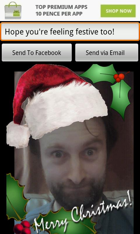 Christmas Card - screenshot